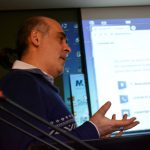 Samvel Martirosyan Explains Digital Security to Journalists